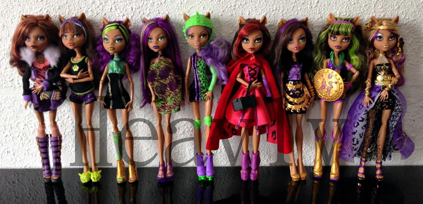 Heavly dolls mes clawdeen - Photo de monster high clawdeen ...
