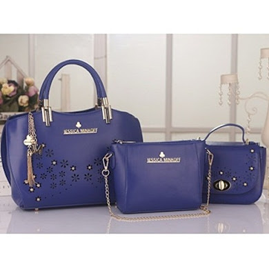 JESSICA MINKOFF (3 IN 1 SET) - BLUE