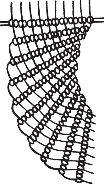 Колье «Павлин»: схема и