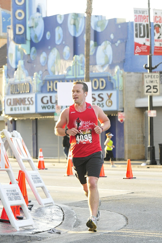 Running Hollywood Half Marathon