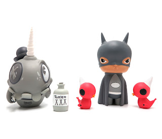 40 New vinyl toys by Kathie Olivas and Brandt Peters