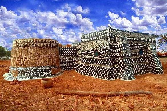 Le nouvel africain remettre au gout du jour l for Architecture africaine