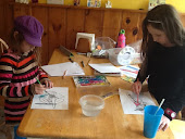 Kayla & Ava illustrate