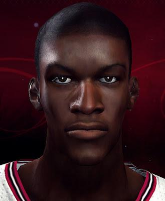 NBA 2K13 Jimmy Butler Cyberface Patch