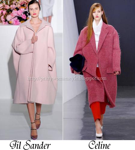 широки дамски палта