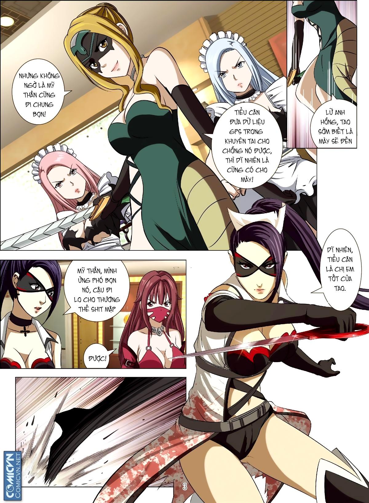 Bloody Girl chap 17.2 page 3 - IZTruyenTranh.com