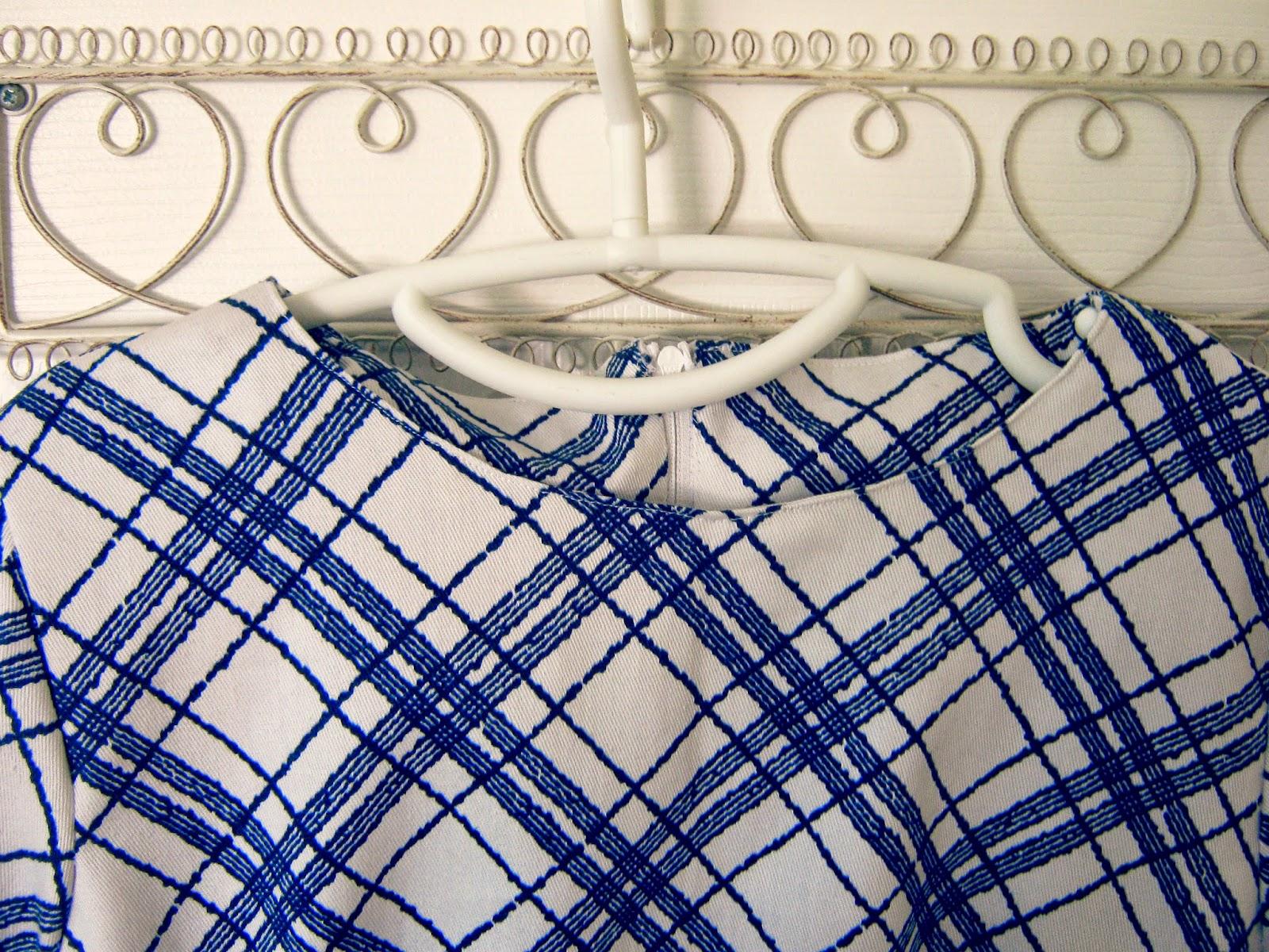 Checked Handmade Dress