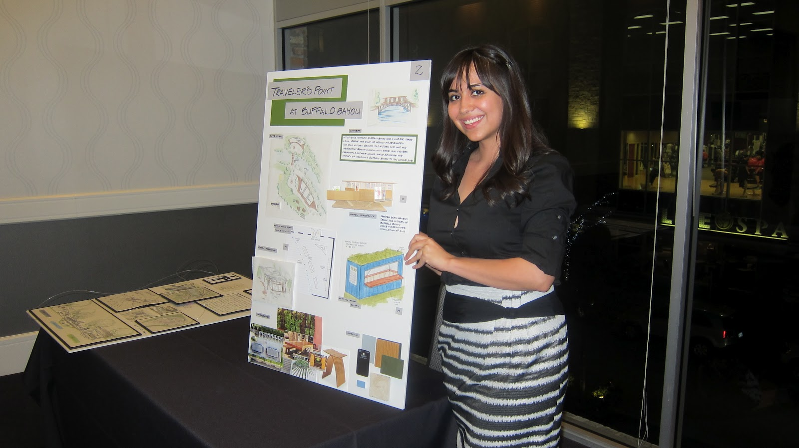 Jaclyns Group Was Awarded 2nd Place In The Charette Competition