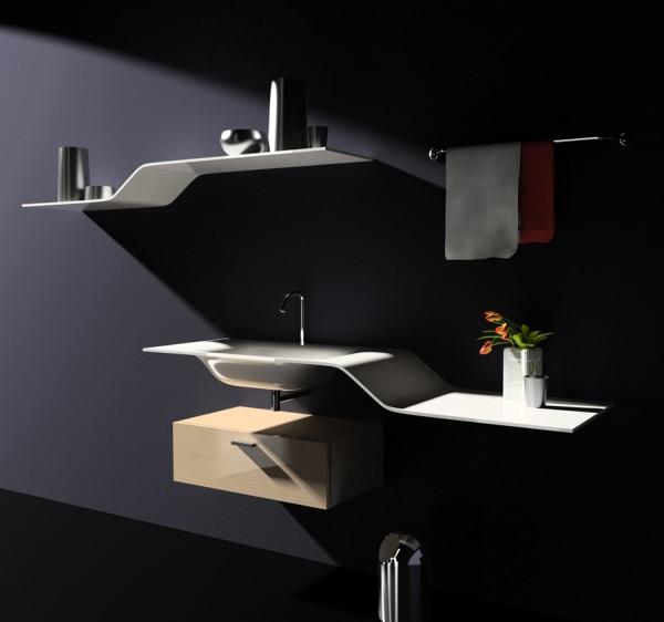 Как создать минималиcтическую и магическую атмосферу в ванной комнате?