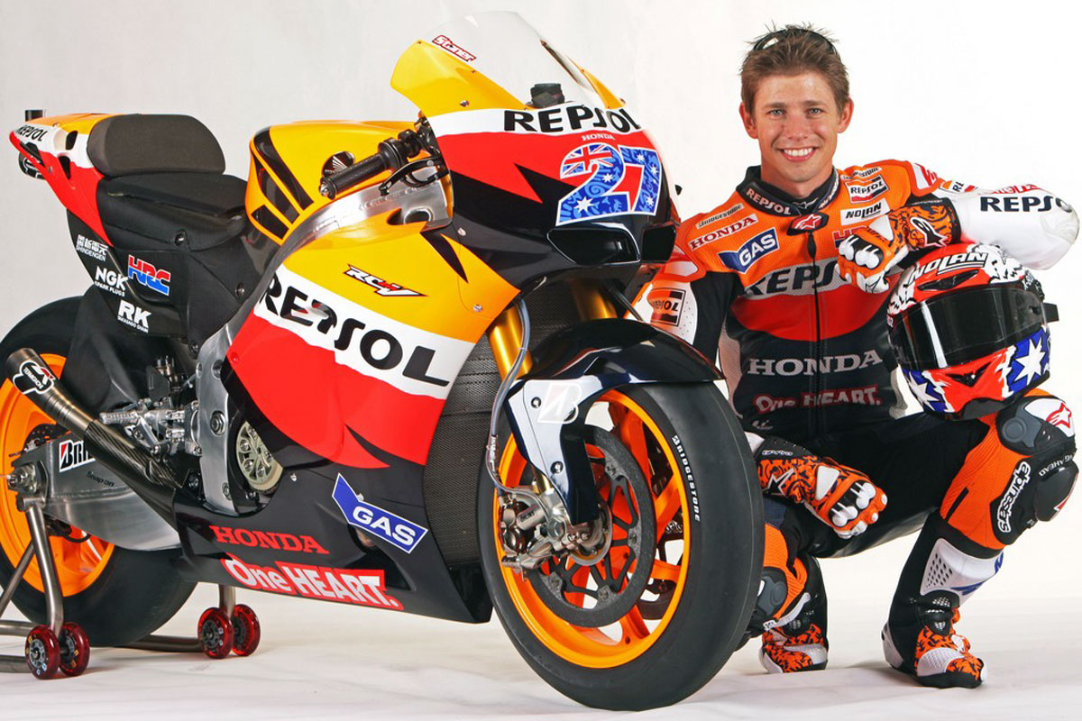 Casey Stoner Repsol Wallpaper Movie Sport Wallpaper