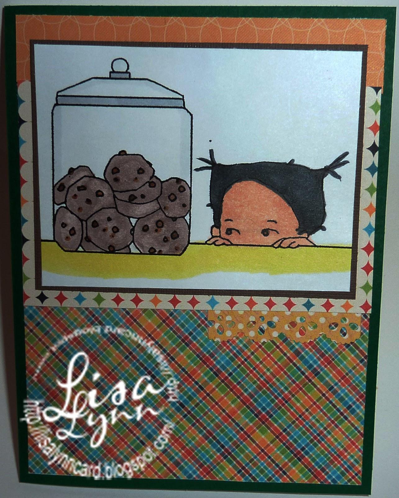 Lisa Lynn's Card Creations: chocolate chip cookies