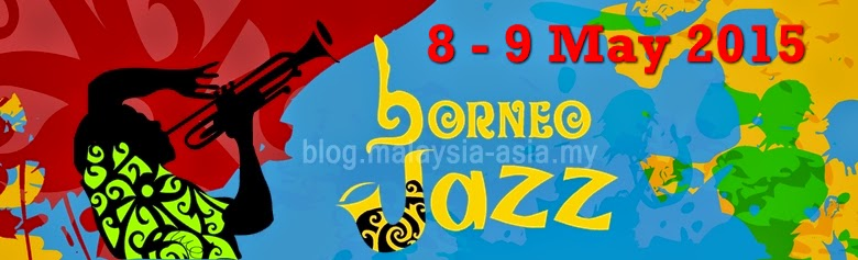 Borneo International Jazz Festival 2015 banner