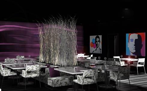 purple cafe interior designs ideas home design ideas