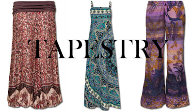 tapestry+fashion - Tapestries You Can Wear!