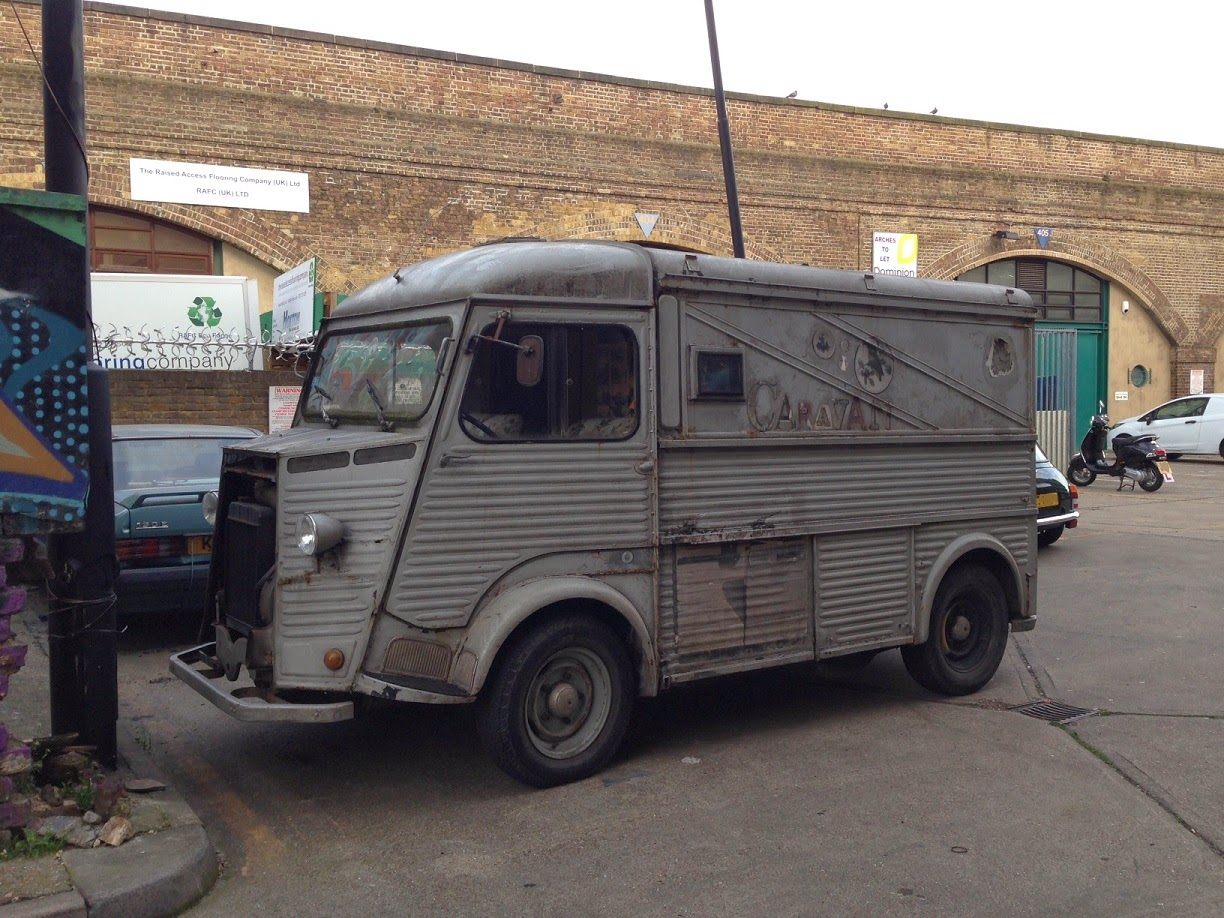 Old Citroen van, Hoxton, London