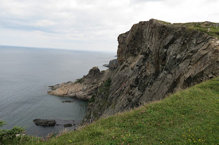 Magnificent craggy shore lines