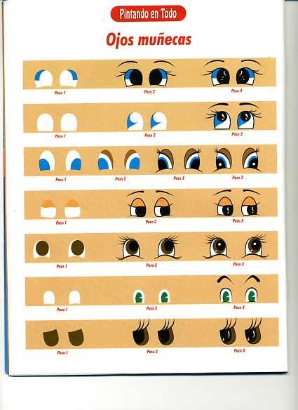 PORCELANA FRIA Trynys design: pintado ojos de muñecas