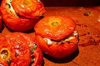Akotonshi Ghanaian Stuffed tomatoes photo by ChodHound