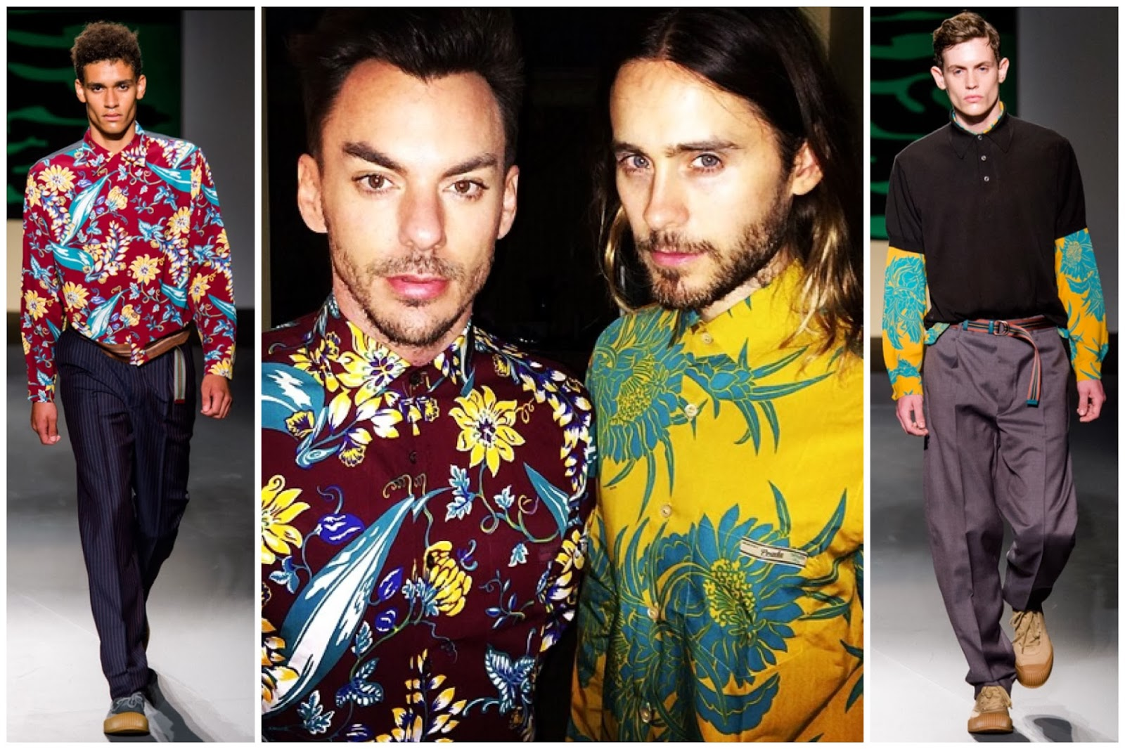 Jared Leto and Shannon Leto in Prada - Shannon Leto's Birthday Celebrations