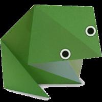 Origami Binatang Katak