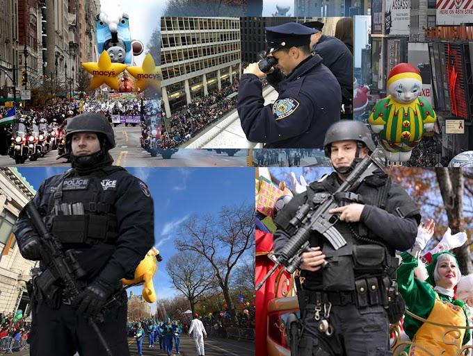 Cientos de policías antiterroristas protegieron a 3 millones de asistentes al desfile de Macy´s