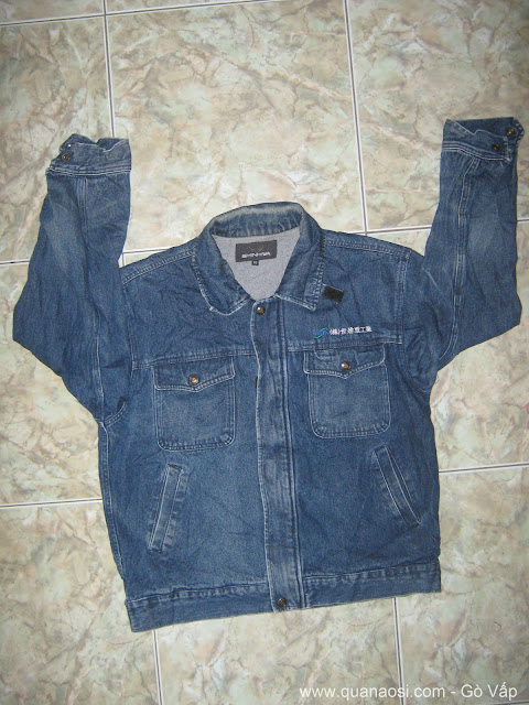 Áo khoác jean nam túi đẹp SHINGWA 150k, Hàng hiệu giá rẻ