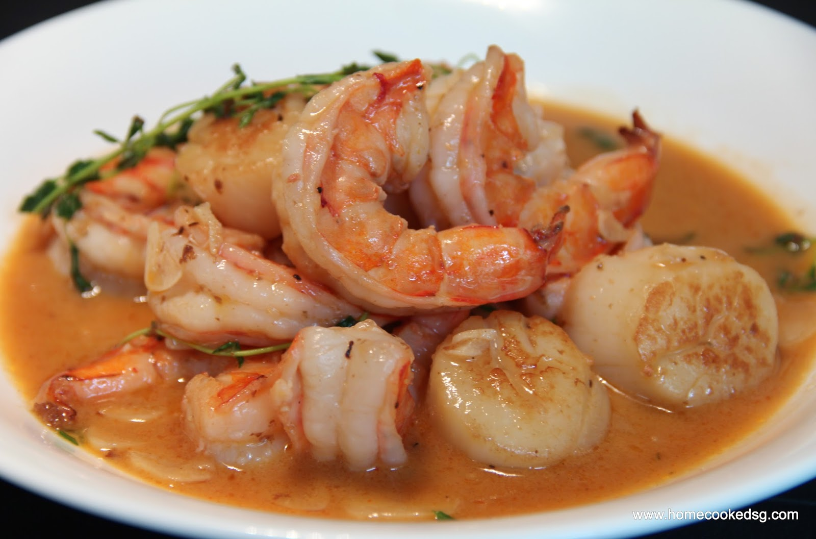 Culinary Kitchenette: Shrimp and Scallops with White Wine ...