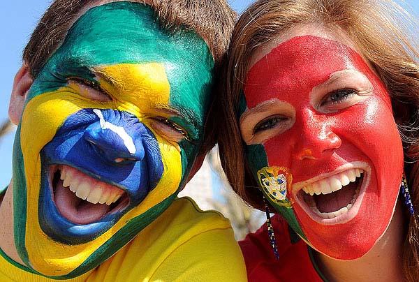 BRASIL E PORTUGAL, ENFIM, JUNTOS!