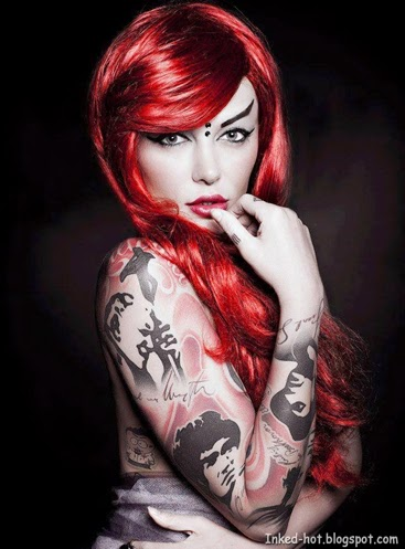 Inked Girl | Beautiful Tattoo Body Art