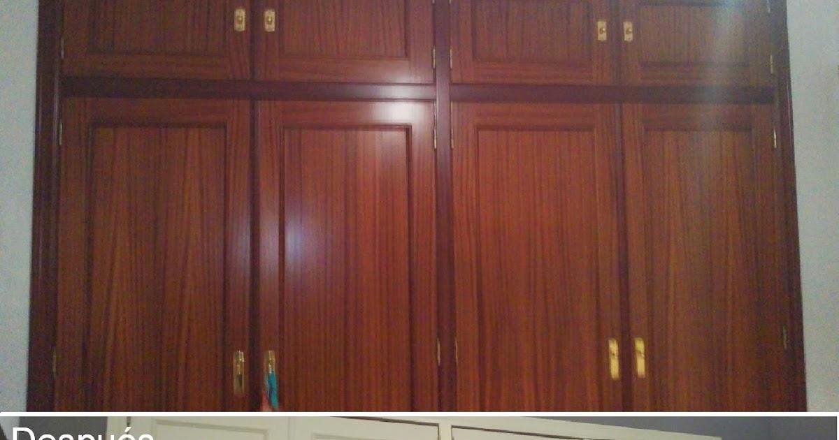 Antes y despu s del armario de mamen - Reformar armario empotrado ...