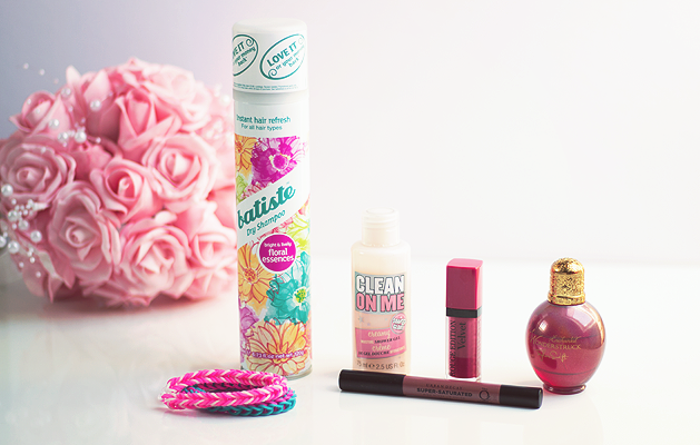August Favourites, Beauty, Bbloggers August Favourites, Batiste Dry Shampoo, Soap and Glory Clean on Me, Urban Decay Glina, Bourjois Rouge Edition, Taylor Swift Wonderstruck