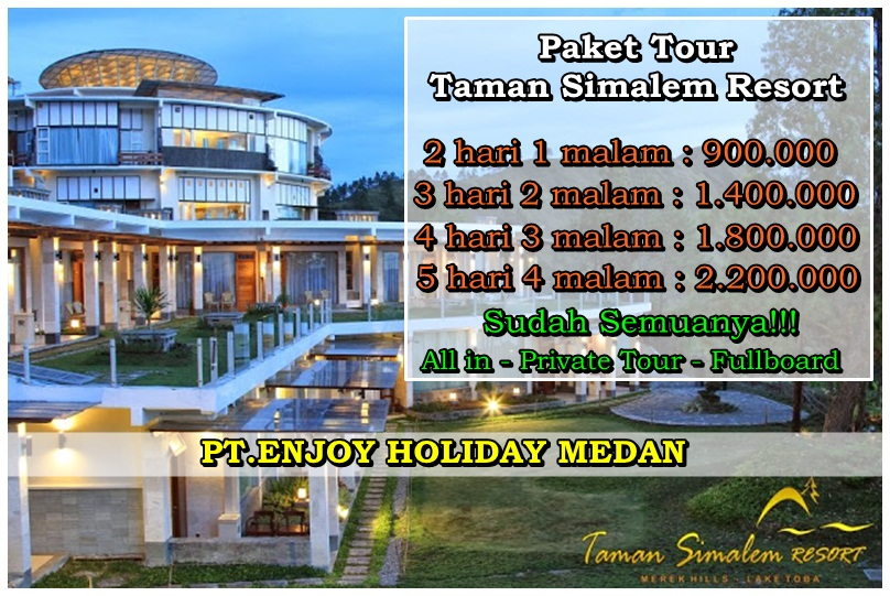 Promo Paket Tour Taman Simalem Resort
