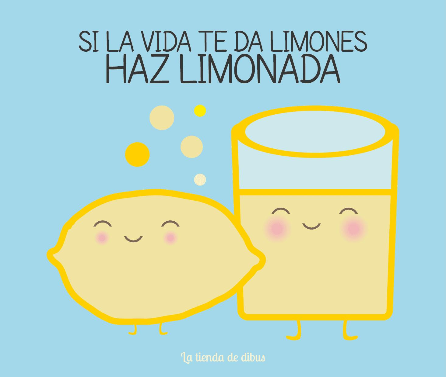 si la vida te da limones