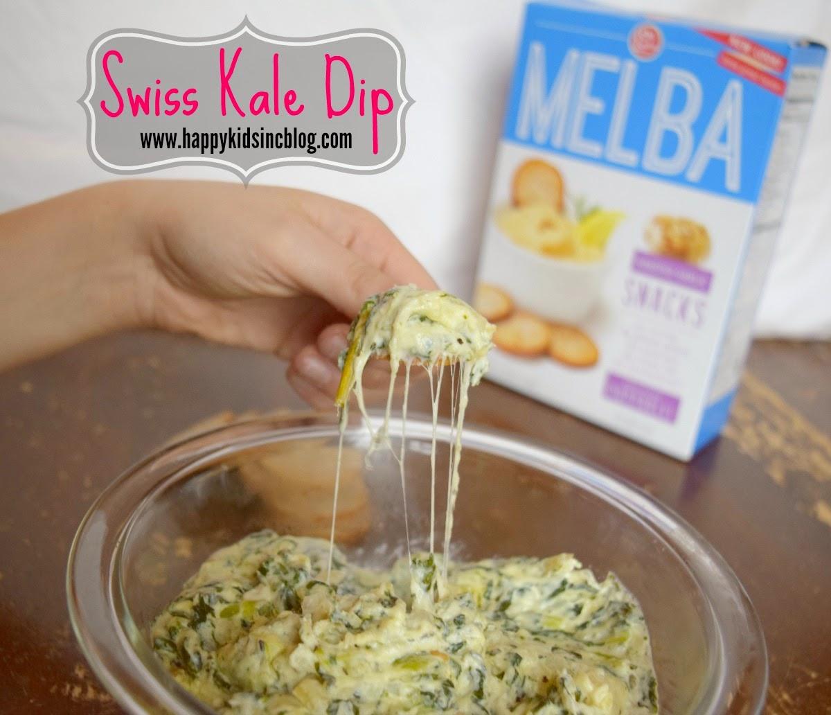 Swiss Kale Dip Recipe