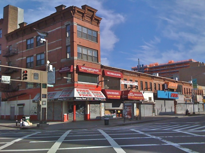 side of 125th street owned