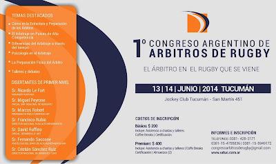 1° Congreso Argentino de Árbitros de Rugby