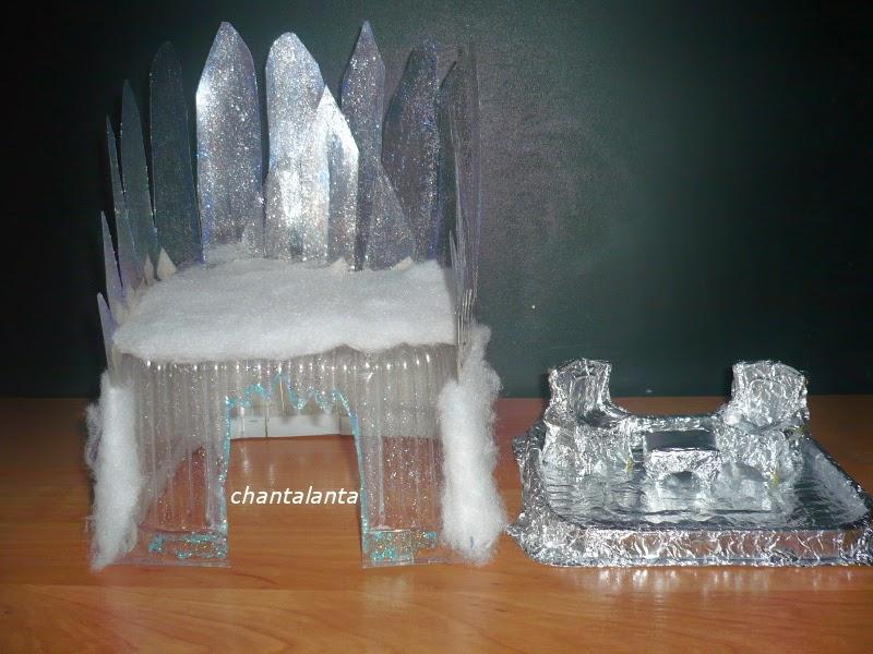 Замок для снежной королевы своими руками 59