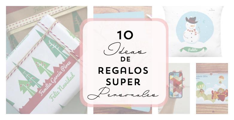 10 Ideas de regalos súper personales