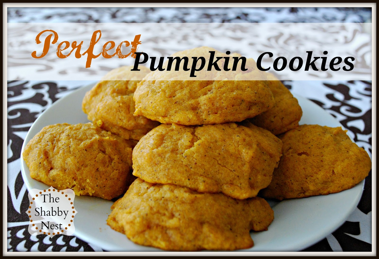 ... my favorite fall recipes: Amazing, Melt-in-your-mouth Pumpkin Cookies