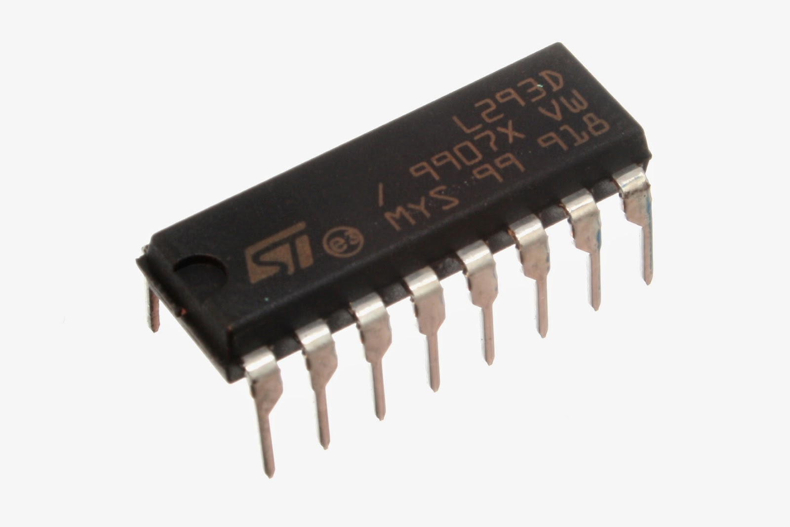 CI L293D ponte h Arduino