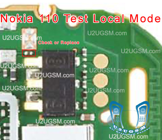 Nokia 110-111 Local Mode-Test Mode Solution