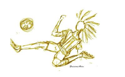 Rasta Footballer