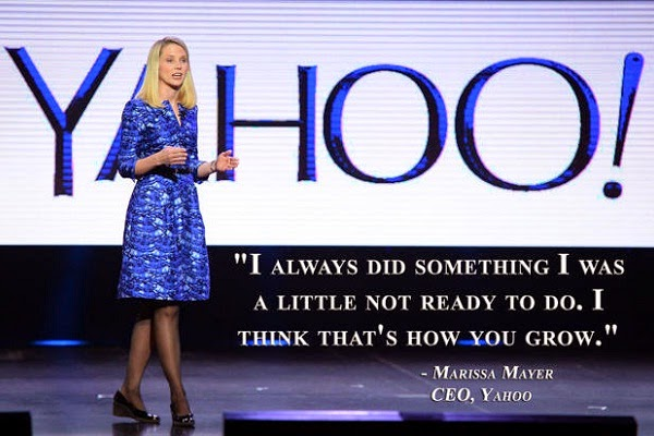 Educational quote from Yahoo CEO