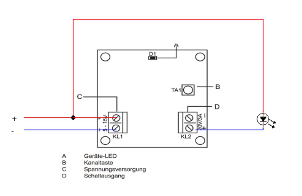 Otto\'s Technik Blog: Schaltaktor für Kleinspannnung