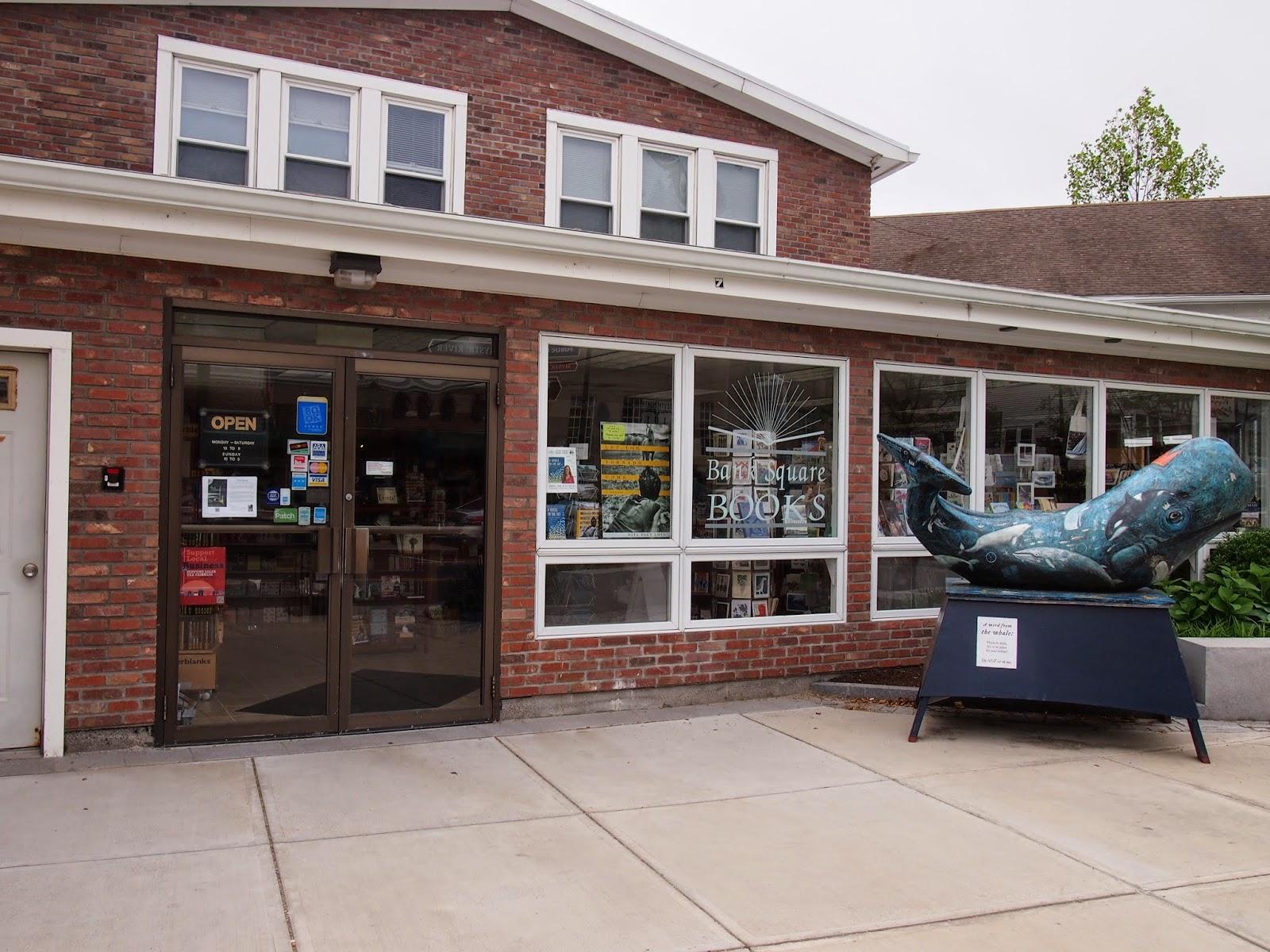 A bookstore in Mystic, Connecticut