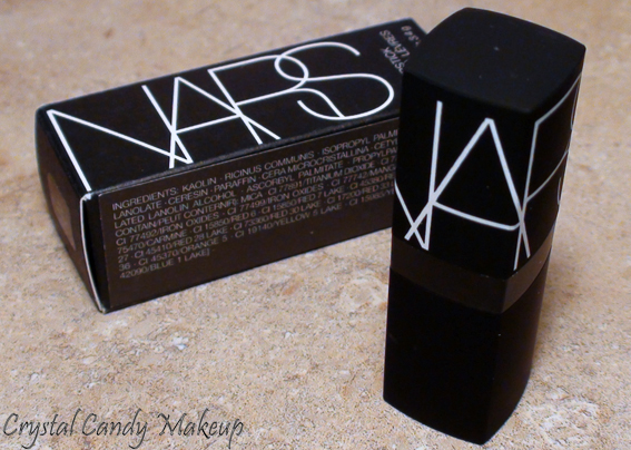 Rouge à lèvres Schiap de Nars - Lipstick - Review