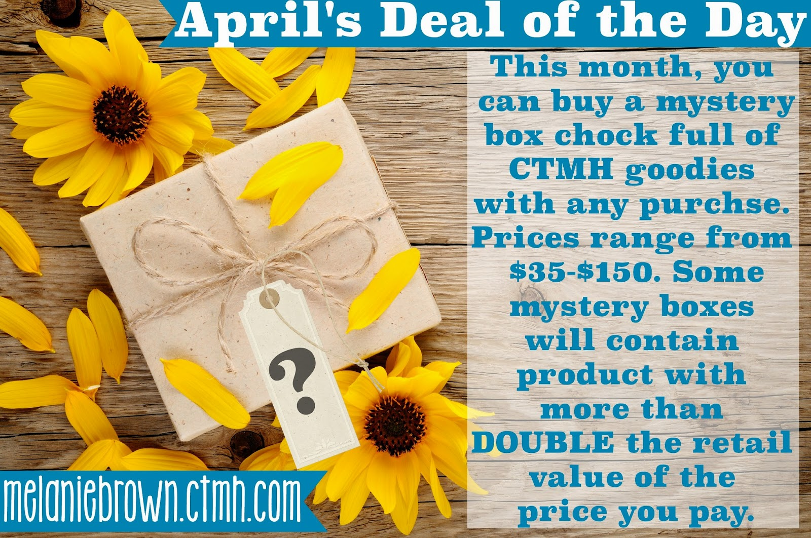 April Deal of the Day Special