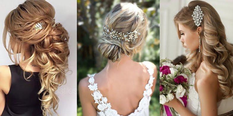 Stunning wedding hairstyles junglespirit Choice Image