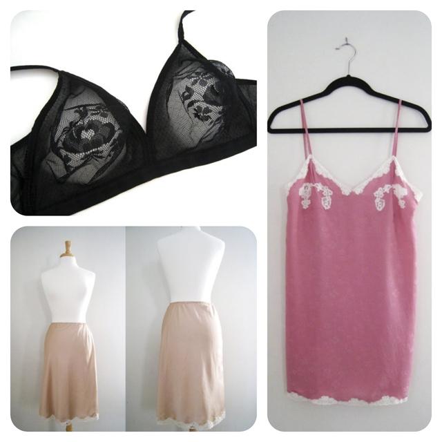 shop vintage lingerie at CutandChicVintage
