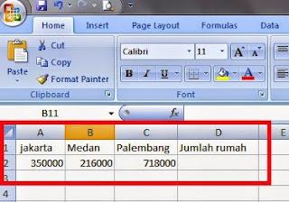 gambar data penjumlahan
